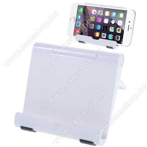 SAMSUNG SGH-F275UNIVERZÁLIS asztali telefon tartó, állvány - FEHÉR