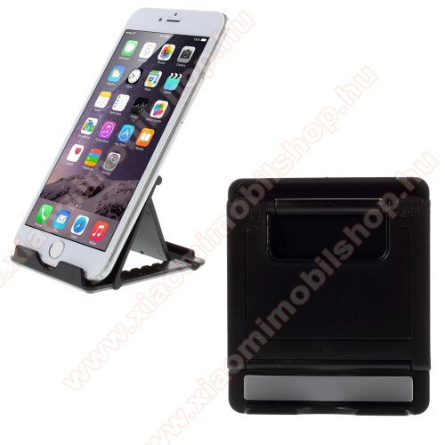Xiaomi Redmi Note 2UNIVERZÁLIS asztali telefon tartó, állvány - FEKETE
