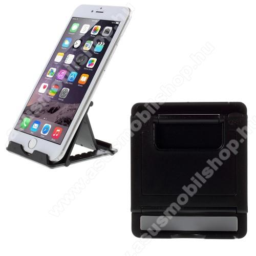 ASUS Zenfone Max (ZC550KL) (2016)UNIVERZÁLIS asztali telefon tartó, állvány - FEKETE