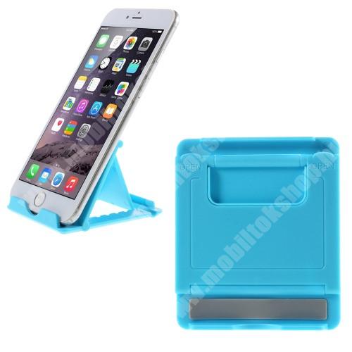myPhone Pocket UNIVERZÁLIS asztali telefon tartó, állvány - VILÁGOSKÉK