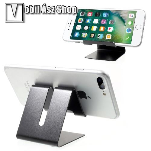 HUAWEI P9UNIVERZÁLIS asztali telefon tartó, állvány - FEKETE