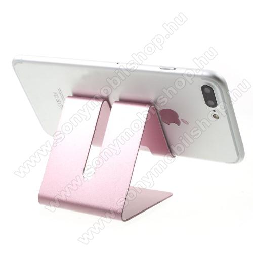 SONY Xperia Z4 CompactUNIVERZÁLIS asztali telefon tartó, állvány - ROSE GOLD