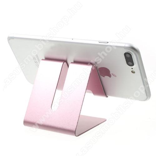 ASUS Zenfone C (ZC451CG)UNIVERZÁLIS asztali telefon tartó, állvány - ROSE GOLD