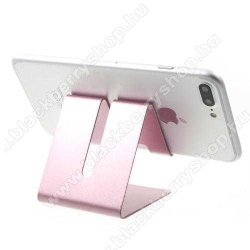BLACKBERRY 8900 CurveUNIVERZÁLIS asztali telefon tartó, állvány - ROSE GOLD