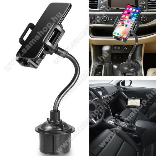 SAMSUNG Galaxy Tab 2 7.0 (P3110)UNIVERZÁLIS autós / gépkocsi tartó - pohártartóba rögzíthető, 360°-ban forgatható, 3-6.5