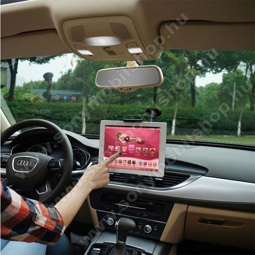 SONY Xperia Z5 DualUNIVERZÁLIS autós / gépkocsi tartó - tapadókorongos, 27cm-es hosszú karral!, 360°-ban forgatható - 5-10