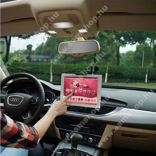 SAMSUNG SGH-Z550UNIVERZÁLIS autós / gépkocsi tartó - tapadókorongos, 27cm-es hosszú karral!, 360°-ban forgatható - 5-10