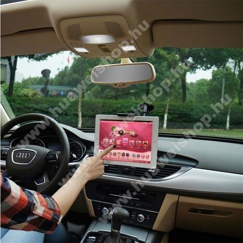 HUAWEI Honor Play 8AUNIVERZÁLIS autós / gépkocsi tartó - tapadókorongos, 27cm-es hosszú karral!, 360°-ban forgatható - 5-10
