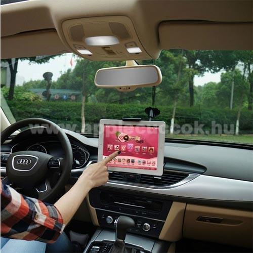 APPLE iPhone 6s PlusUNIVERZÁLIS autós / gépkocsi tartó - tapadókorongos, 27cm-es hosszú karral!, 360°-ban forgatható - 5-10
