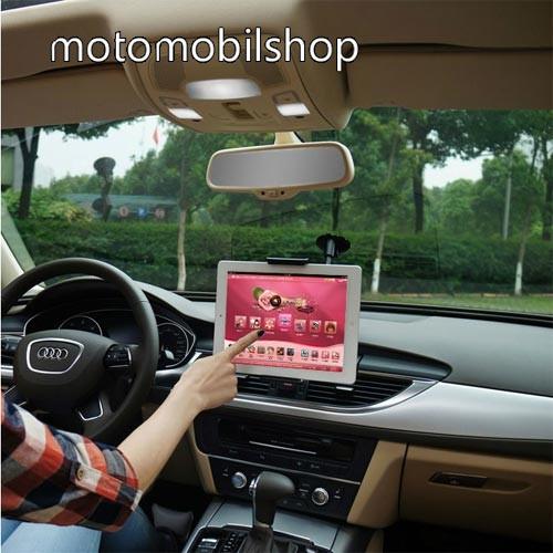 """MOTOROLA K1 UNIVERZÁLIS autós / gépkocsi tartó - tapadókorongos, 27cm-es hosszú karral!, 360°-ban forgatható - 5-10"""" készülékekig használható"""