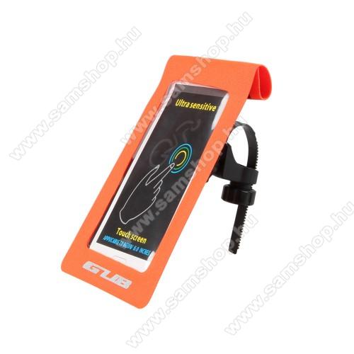 UNIVERZÁLIS biciklis / kerékpáros tartó konzol mobiltelefon készülékekhez - max 6