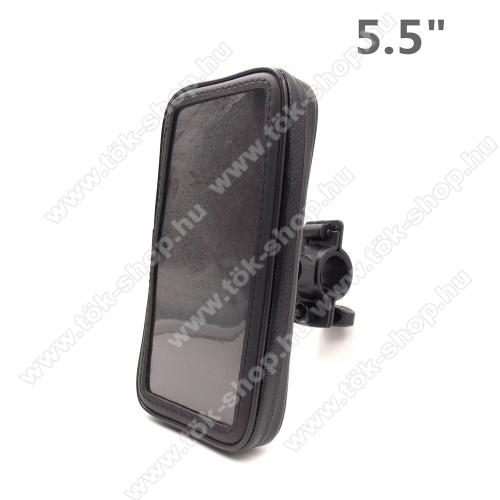 UNIVERZÁLIS biciklis / kerékpáros tartó konzol mobiltelefon készülékekhez - 5.5