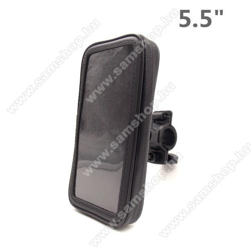 SAMSUNG Galaxy J7 PrimeUNIVERZÁLIS biciklis / kerékpáros tartó konzol mobiltelefon készülékekhez - 5.5