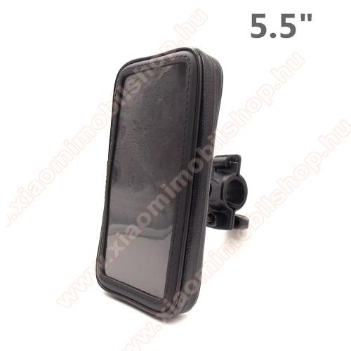 Xiaomi Mi A2 LiteUNIVERZÁLIS biciklis / kerékpáros tartó konzol mobiltelefon készülékekhez - 5.5