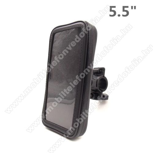 OPPO F7 YouthUNIVERZÁLIS biciklis / kerékpáros tartó konzol mobiltelefon készülékekhez - 5.5