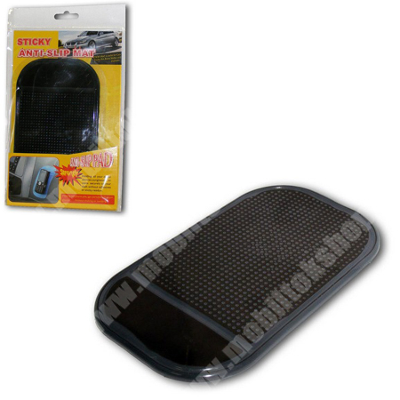 BLACKBERRY Priv UNIVERZÁLIS csúszásgátló gépkocsi tartó pad műszerfalra 14 x 8 cm (NANO-PAD tulajdonság)
