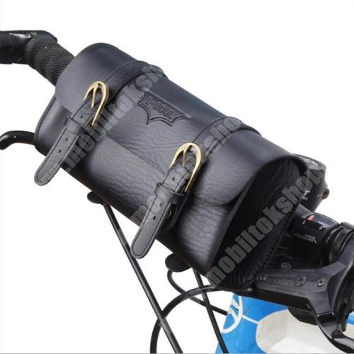 MyPhone 1070 Univerzális fekvő tok, táska, biciklire szerelhető - 220 x 50 x 50 mm - FEKETE