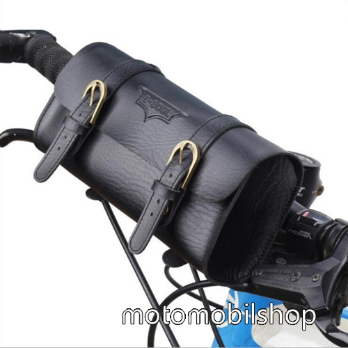 MOTOROLA W388 Univerzális fekvő tok, táska, biciklire szerelhető - 220 x 50 x 50 mm - FEKETE