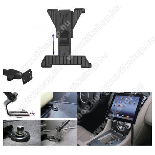 UNIVERZÁLIS gépkocsi / autós tartó - GPS / TABLET - állítható, üléssínhez rögzíthető, 7-10.1