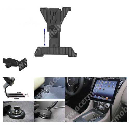 ACER Iconia Tab A1-811 UNIVERZÁLIS gépkocsi / autós tartó - GPS / TABLET - állítható, üléssínhez rögzíthető