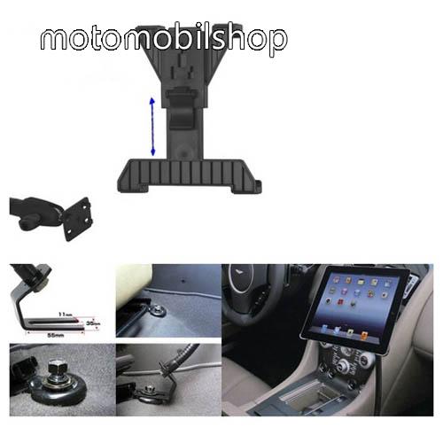MOTOROLA Xoom 2 (MZ616) UNIVERZÁLIS gépkocsi / autós tartó - GPS / TABLET - állítható, üléssínhez rögzíthető