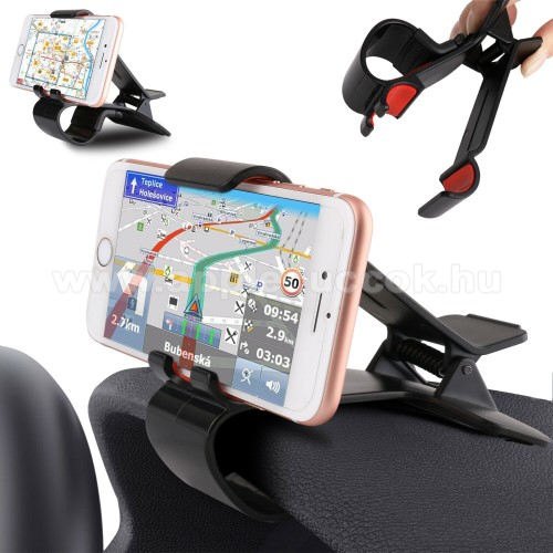 APPLE iPhone XUNIVERZÁLIS gépkocsi / autós tartó - műszerfalra rögzíthető, max 4-6
