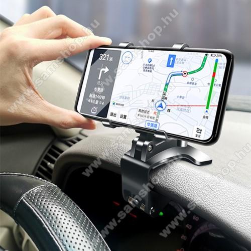 SAMSUNG SGH-i900 OmniaUNIVERZÁLIS gépkocsi / autós tartó - műszerfalra, visszapillantóra, napellenzőre rögzíthető, 4-6.5