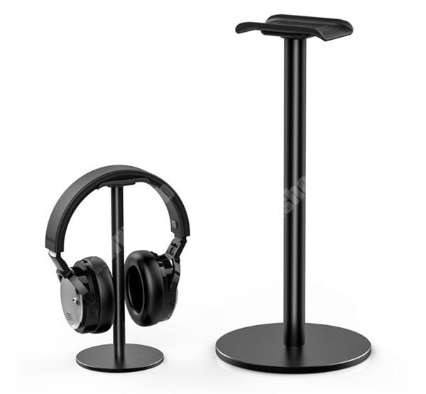 ALCATEL A30 UNIVERZÁLIS Headstand fejhallgató állvány / asztali tartó - FEKETE