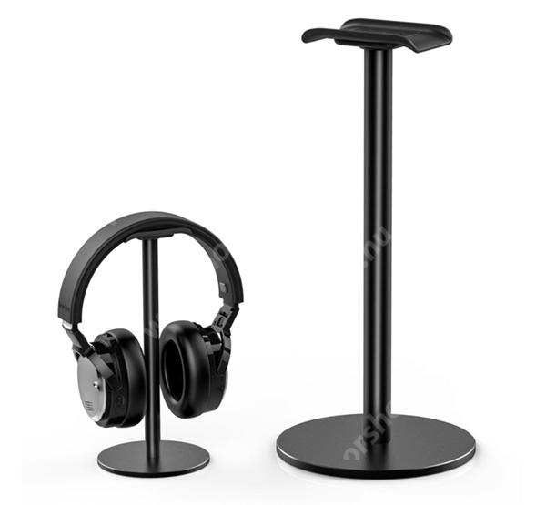 HUAWEI Honor 9 UNIVERZÁLIS Headstand fejhallgató állvány / asztali tartó - FEKETE