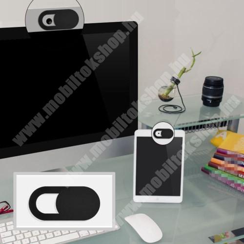 MOTOROLA Moto G4 UNIVERZÁLIS kameratakaró - 0.7mm vastagság, nem gátolja a laptop lecsukását, teljes adatvédelem és biztonság - FEKETE