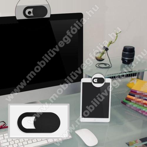 APPLE iPhone 7 PlusUNIVERZÁLIS kameratakaró - 0.7mm vastagság, nem gátolja a laptop lecsukását, teljes adatvédelem és biztonság - FEKETE