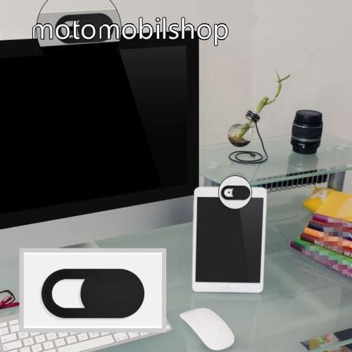 MOTOROLA MPX100 UNIVERZÁLIS kameratakaró - 0.7mm vastagság, nem gátolja a laptop lecsukását, teljes adatvédelem és biztonság - FEKETE