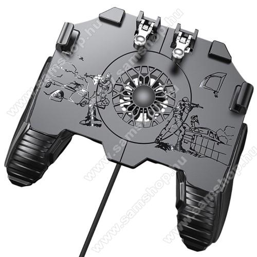 SAMSUNG SGH-X830UNIVERZÁLIS Kontroller / Joystick - ravasz FPS játékokhoz, gamepad, beépített hűtőventilátor CSAK KÁBELLEL MÜKŐDIK!, 6.5