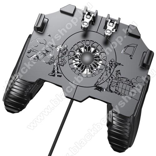 BLACKBERRY 9630 TourUNIVERZÁLIS Kontroller / Joystick - ravasz FPS játékokhoz, gamepad, beépített hűtőventilátor CSAK KÁBELLEL MÜKŐDIK!, 6.5