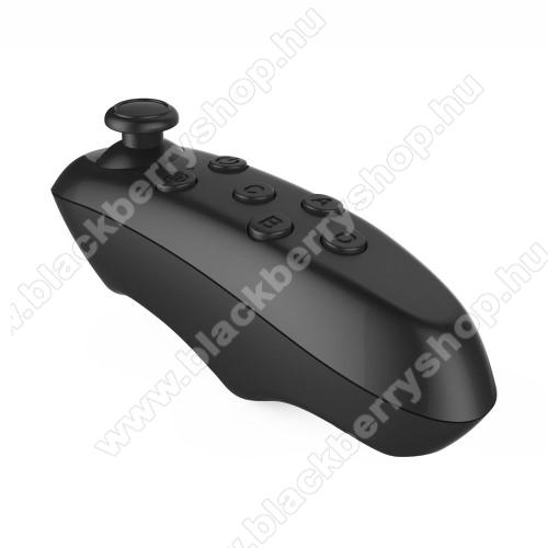 UNIVERZÁLIS Mini Kontroller / Joystick - VR szemüvegekhez ajánlott, bluetooth 3.0, 2x AA elemmel működik (NEM TARTOZÉK), kompatibilis okostelefonokkal, PC, és táblagépekkel is! - FEKETE