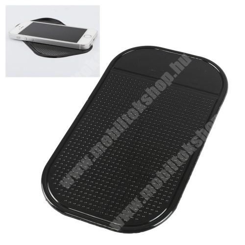 Blackphone UNIVERZÁLIS Nano pad csúszásgátló gépkocsi műszerfalra / asztalra - 1db, 13 x 7cm - FEKETE