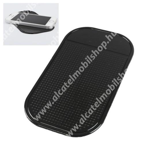 ALCATEL OTE 301 UNIVERZÁLIS Nano pad csúszásgátló gépkocsi műszerfalra / asztalra - 1db, 13 x 7cm - FEKETE