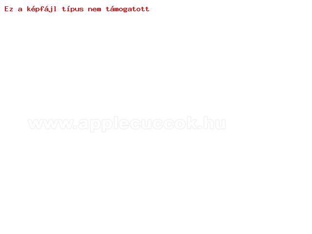 UNIVERZÁLIS notesz / mappa tablet PC tok - PIROS / FEHÉR VIRÁG MINTÁS - álló, bőr, mágneses záródás, asztali tartó funkciós, belső zsebek, 8