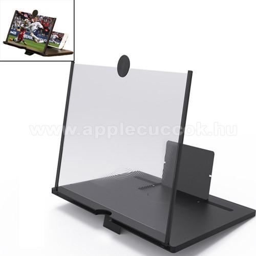 APPLE iPhone 6s PlusUNIVERZÁLIS összecsukható asztali telefon tartó, állvány / nagyító - 10