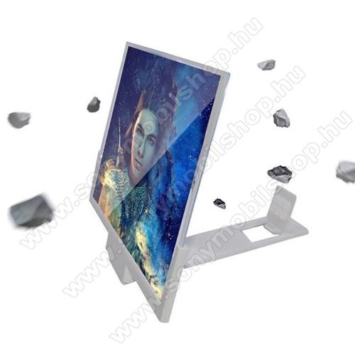 UNIVERZÁLIS összecsukható asztali telefon tartó, állvány / nagyító - 14