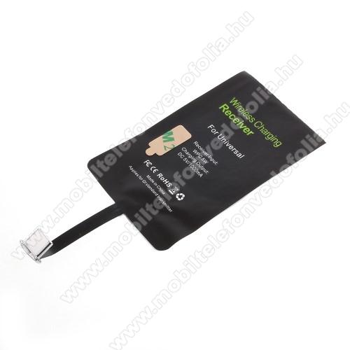 ZTE S30 SEUNIVERZÁLIS QI Wireless modul vezeték nélküli töltéshez - USB 3.1 Type C csatlakozóval (Fogadóegység)