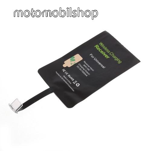 MOTOROLA Moto Z2 Force UNIVERZÁLIS QI Wireless modul vezeték nélküli töltéshez - USB 3.1 Type C csatlakozóval (Fogadóegység)
