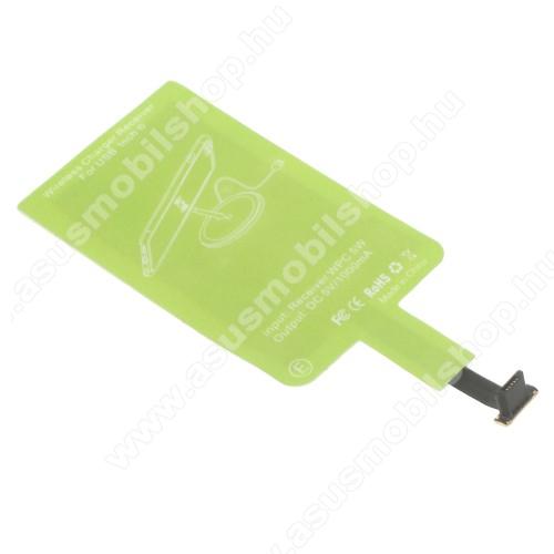 ASUS Zenfone C (ZC451CG)UNIVERZÁLIS QI Wireless modul vezeték nélküli tötléshez - FORDÍTOTT! microUSB csatlakozóval rendelkező készülékekhez!