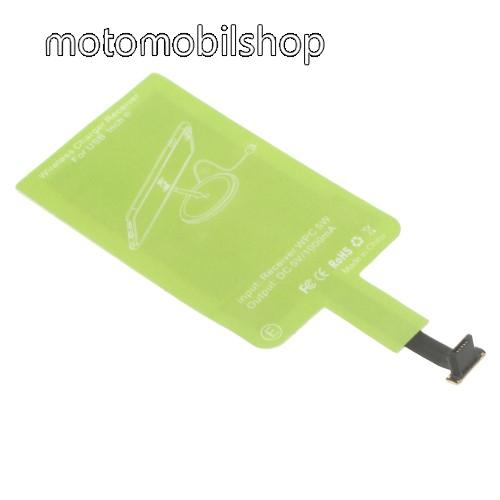 MOTOROLA Moto E4 UNIVERZÁLIS QI Wireless modul vezeték nélküli tötléshez - FORDÍTOTT! microUSB csatlakozóval rendelkező készülékekhez!