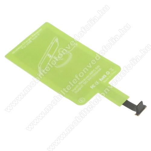 OPPO R17UNIVERZÁLIS QI Wireless modul vezeték nélküli töltéshez - microUSB csatlakozóval rendelkező készülékekhez!