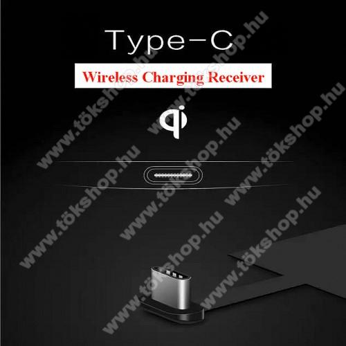 OnePlus Nord N10 5GUNIVERZÁLIS QI Wireless modul vezeték nélküli töltéshez - USB 3.1 Type C csatlakozóval (Fogadóegység)