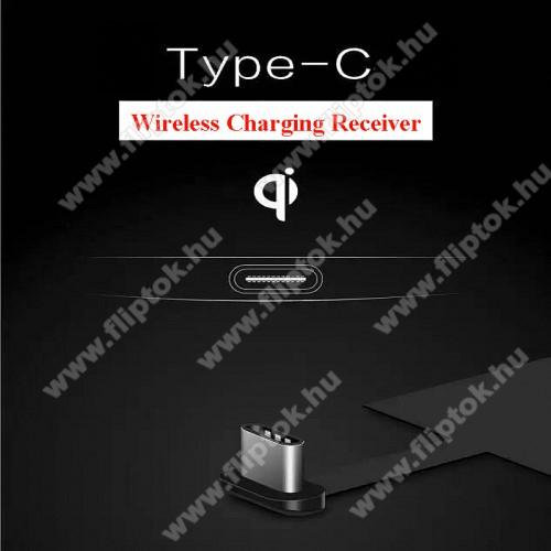 MOTOROLA One MacroUNIVERZÁLIS QI Wireless modul vezeték nélküli töltéshez - USB 3.1 Type C csatlakozóval (Fogadóegység)