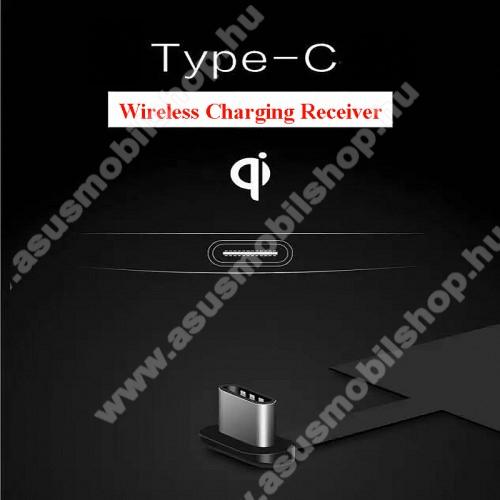 ASUS Zenfone V (V520KL)UNIVERZÁLIS QI Wireless modul vezeték nélküli töltéshez - USB 3.1 Type C csatlakozóval (Fogadóegység)