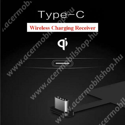 UNIVERZÁLIS QI Wireless modul vezeték nélküli töltéshez - USB 3.1 Type C csatlakozóval (Fogadóegység)
