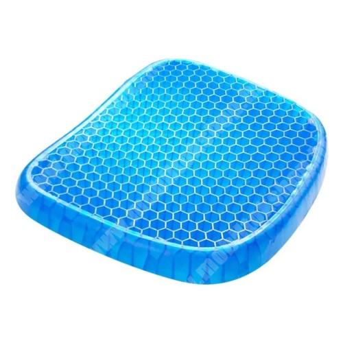 PRESTIGIO MultiPad 8.0 PRO DUO UNIVERZÁLIS szilikon üléspárna - szellőző méhsejt kialakítás, mosható, csúszásgátló, 42 x 38 x 4,5 cm - KÉK